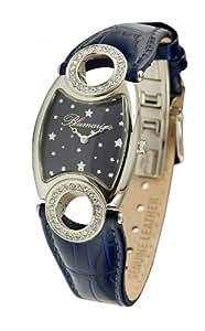 Blumarine - BM.3010L/02Z - Montre Femme - Quartz - Analogique - Bracelet cuir noir