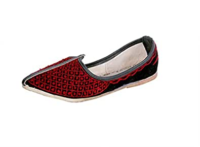 Panahi Traditional Leather Loafers Ethnic Mojari Shoes for Mens