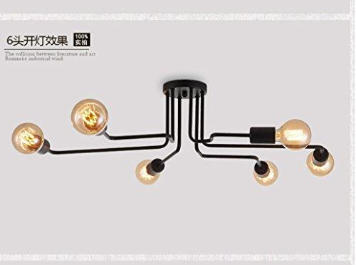 PinWei@Ragni, gechi soffitto lampada, lampada da soffitto di tubo curvo, lampade soffitto del salone, caffè negozi/abbigliamento negozio lampada da