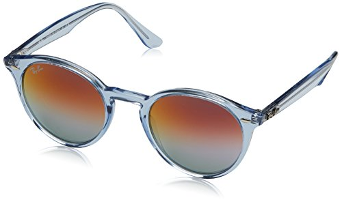 Ray-ban, occhiali da sole unisex-adulto, blu (light blue), 51 millimeters