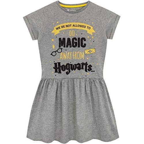 Harry Potter Vestido para niñas Hogwarts 1