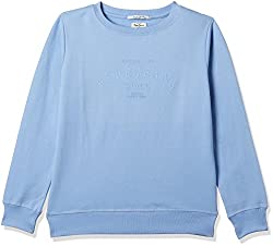 Pepe Jeans London Womens Cotton Sweatshirt (PILT200015_Lt-Blue_Small)