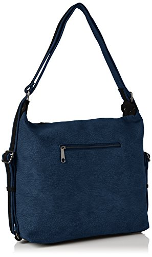 Swanky Swans - Finley Convertible Strap Rucksack, Borse a zainetto Donna Blu (Navy Blue)