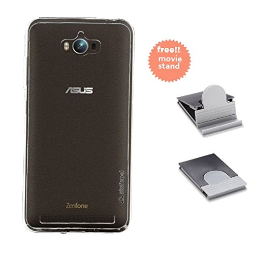Stuffcool Pure Transparent Soft Back Case Cover for Asus Zenfone Max - Clear  available at amazon for Rs.99