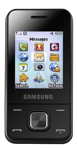 Samsung E2330 Téléphone Portable Quadri-bande GPRS Bluetooth Noir