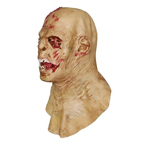 Fanfan Halloween Gesicht Gesicht Horror Alien Furchterregende Zombie Lächeln Gesicht Maske Perücken Tanz Party Spuk Haus Lustige Erwachsene Lustig