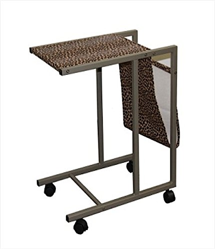 Ore International fw1364Laptop Cart (Leopard Print), 24.25-inch (fw1364) (Warenkorb Speicher Laptop)