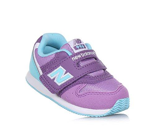 New Balance Basket violette et turqoise 996 infant, en tissu synthétique et microfibre, Fille, Filles