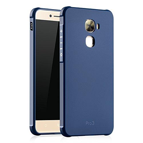 SMTR Leeco Le Pro 3 Hülle mit Silikon TPU Material und Farblich Muster Schutzhülle Handytasche für Leeco Le Pro 3 -Blau