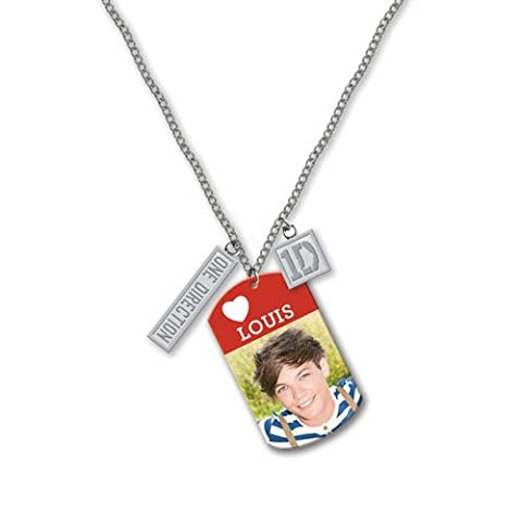 One Direction - Dog Tag Anhänger Louis (in 16 inch)