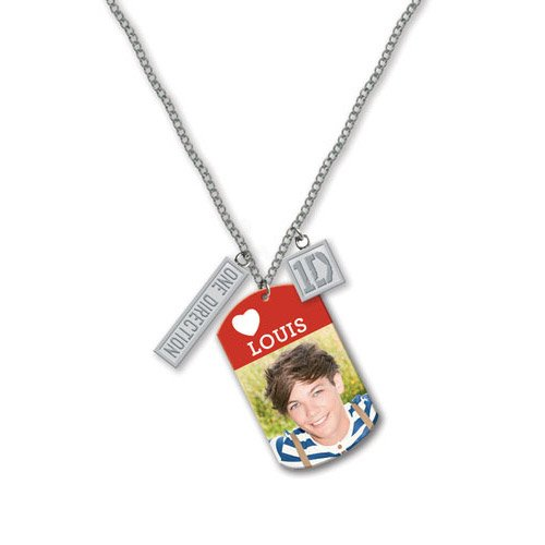 One Direction - Dog Tag Anhänger Louis (in 16 inch) -