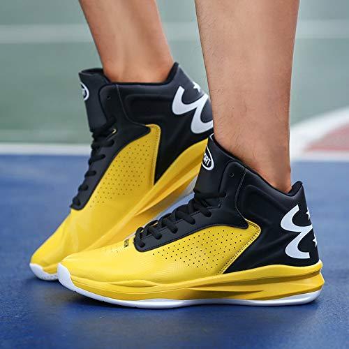 VSVSZ Zapatillas de Deporte Botas De Baloncesto Senior Zapatos De Hombre Zapatos Deportivos Zapatos Casuales De Hombre Zapatos De Hombre Transpirables De Absorción De Impactos