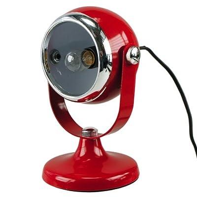 Met.-Tischlampe rot 14x14x22cm von MIK funshopping bei Lampenhans.de