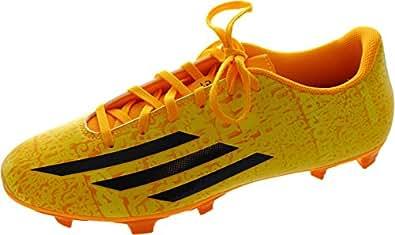 adidas Men's F5 Fg (Messi) Solar Gold Core Black Football Boots - 11 UK