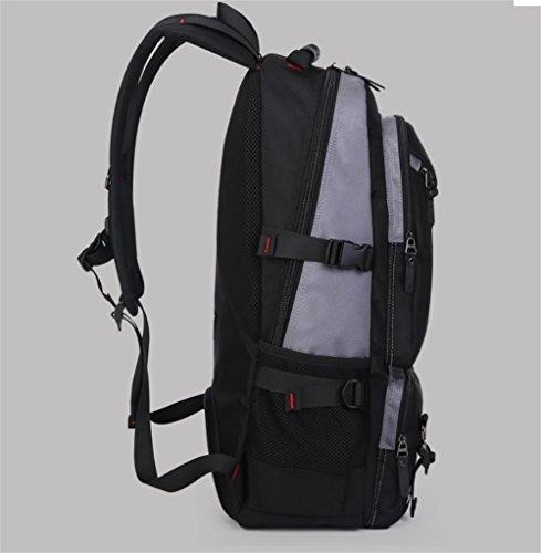 Viaggio borsa sport outdoor zaino nuovi uomini Europa Viaggi Oxford borse impermeabile e resistente alla rinfusa campeggio zaino , army color gray