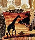 Vervaco PN-0008642 VER Kreuzstichkissen Afrika Giraffe