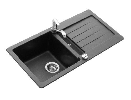 Teka Küchenspüle Kea 45 B-TG Schwarzmetallic