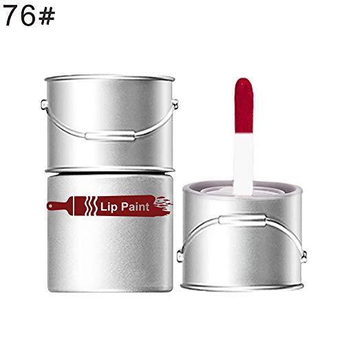Lucidalabbra Volumizzante By clifcragrocl,Donne Mini Oil Barrel Shape Liquid Lipstick Lip Gloss Cosmetici Make Up Tool - 76#