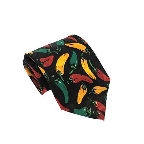 Chilli Peppers Sleeved 100% Polyester Classic Tie