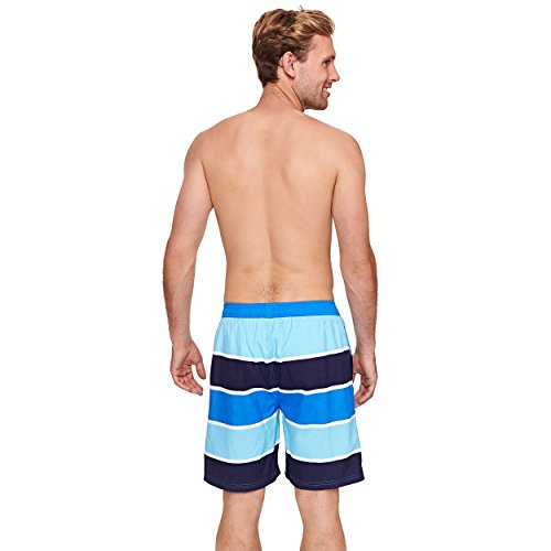 Zoggs Herren Badeshorts wategos Shorts Anzug Blau - Blue/Navy/Sky Blue