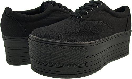 Maxstar  C60-5H,  Damen Sneaker Low-Tops Schwarz