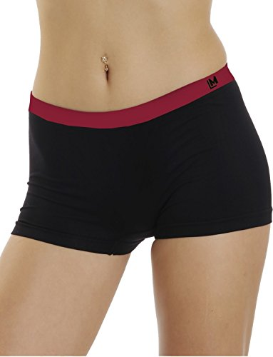 LisaModa Damen Panty 4er Pack Seamless Stretch schwarz L 44-46