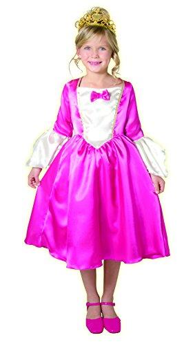 Cesar-F097-003-Kostüm-Kostüm-Marquise 8/10Jahre-Rosa (Kostüm Princesse Aurore)