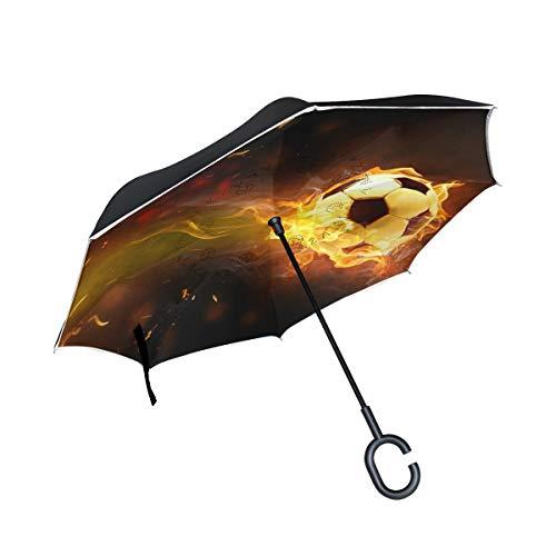 Mnsruu - Paraguas invertido de fútbol