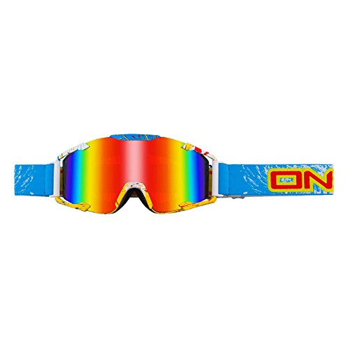 Oneal Crossbrille B2 Spray Blau