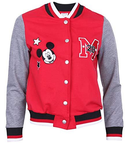 Mickey Maus, Disney, Mädchen, Damen Basketball Pullover Sweater Sweatshirt M (Disney Sweatshirt Damen In)