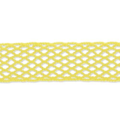 Fischnetz Band 15 mm gelb x 1m - Fischnetz-band