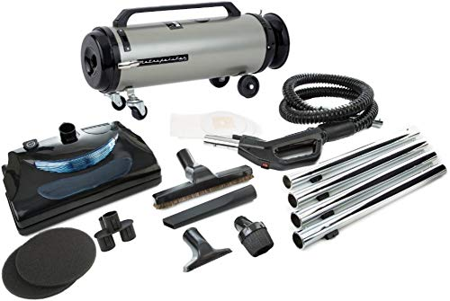 Metrovac adm4pnhsnbf Professional Evolution W/Electric Power 2-Gang Full-Size Kanister Vacu