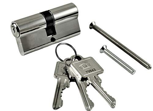 BKS Profilzylinder PZ 8812 Baulänge: 31/31 ( 30/30 ) mit Gefahrenfunktion auch Gleichschließend möglich (Hinweistext beachten !)