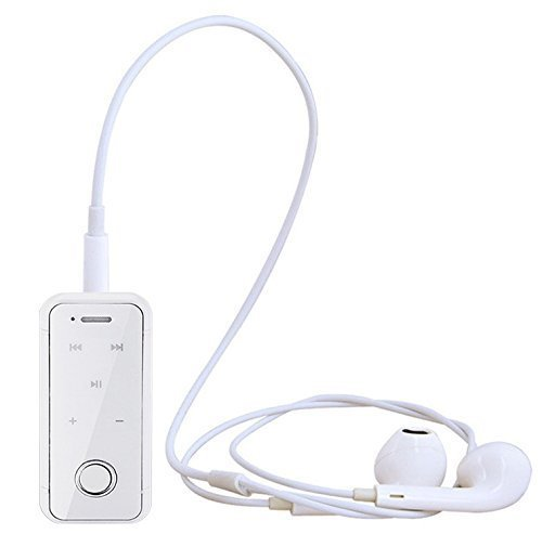 BURLY i6S Bluetooth V 4.0 Headsets Handsfree With Vibration Call Function Dolby Digital Sound Compatible with Apple iPhone 5 / 5S / 6 /6S / 6 Plus And Android Bluetooth Capable Phones And Tablets (White)  available at amazon for Rs.740