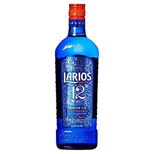 Larios - Ginebra 12 Premium Mediterranéa, 40%, 0.7 l