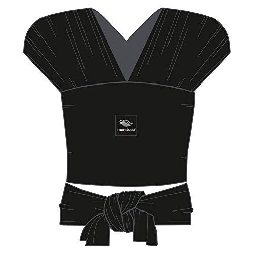 Manduca Sling 233-20-60-001, schwarz, Jersey Tragetuch, GOTS zertifiziert - 3