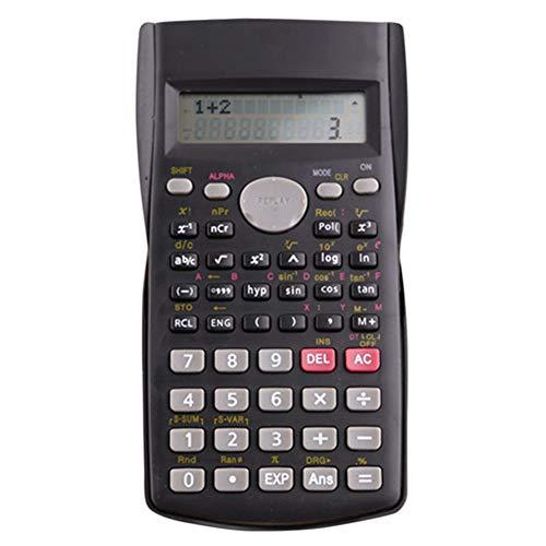 Wissenschaftlicher Taschenrechner, Helect 2-zeiliger Taschenrechner Multifunktions-für Schule, Ingenieurbüchern, Buchhaltungsberechnung