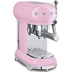 Smeg ECF01PKEU Cafetière Expresso Rose