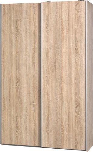 """Schwebetürenschrank 'Soft Plus Smart Typ 40"""", 120 x 194 x 42cm, Weiß"""