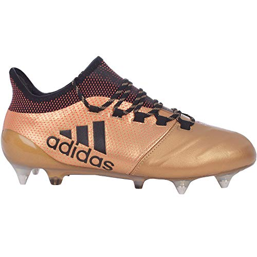 adidas Herren X 17.1 SG Fußballschuhe Grau Onix/Cblack/Solred, 44 2/3 EU