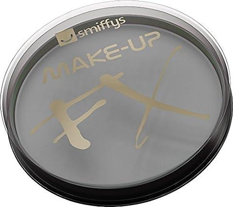Smiffys Déguisement, Maquillage FX, Peinture à l'eau pour le visage et le corps, Gris clair, 16 ml, À base d'eau,