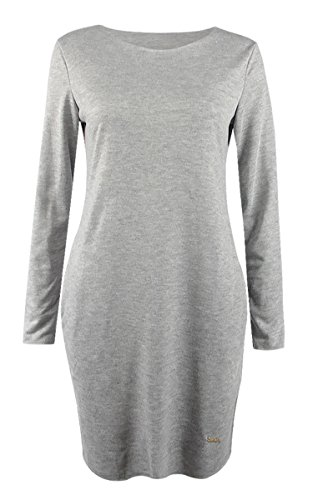 Ecowish - Robe - Femme Gris