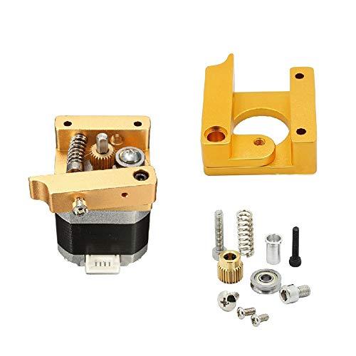 ExcLent 3Pcs Forward Direction Metal Extruder Kit with Nema 17 Stepper Motor for Reprap Prusa I3