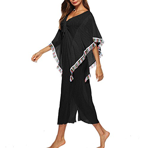 Frenchenal Maillot De Bain Grande Taille Femme,Robe De Plage,robe Femme Ete,Femmes Maillot De Bain Bikini Maillot De Bain Maillots De Bain Crochet Smock Beach Cover Up