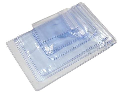 100 Pcs Transparen OPP Jewelry Bags Resealable Zip Lock Storage Bag Grip Seal Package Bag For Necklace Bracelet Rings Earrings (5*7cm) - Borsa Di Opp
