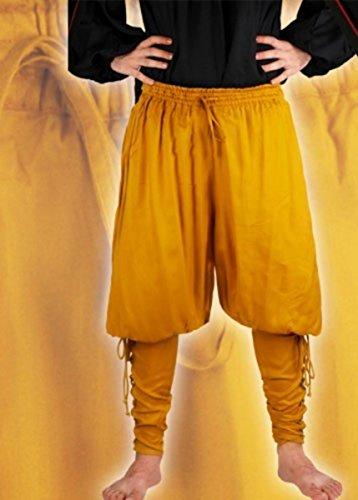Preisvergleich Produktbild Captain Cottuy Piraten Hose - Gold, Grösse:XXL