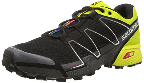 Uomo Solomon Scarpe Gecko Speedcross Verde Vario Trail Del nero Cld Multicolore Da 6Yw7qUYO