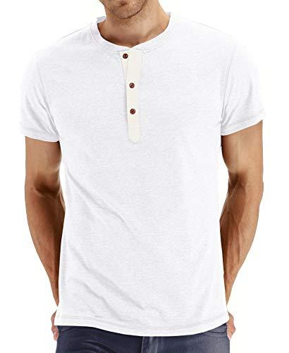 Eichhörnchen-jugend-t-shirt (Einfarbiges Rundhals-T-Shirt für Herren mit V-AusschnittHerren Kurzarm T-Shirt Weiß L)