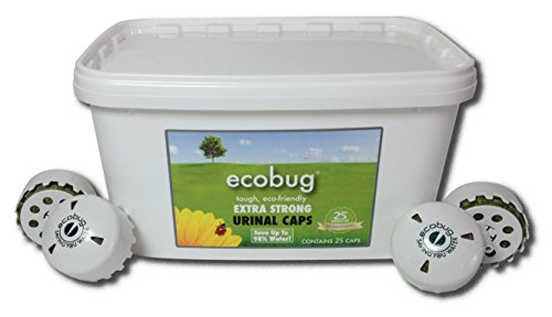 Ecobug® Extra Strong Urinal Cape 10 Stück im Eimer(Grundpreis 11,90€/Stück)