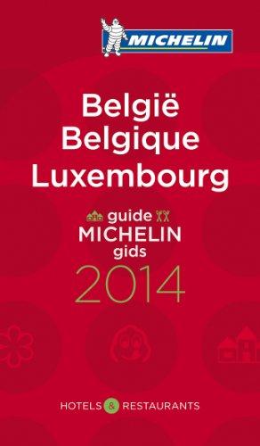 Michelin Guide Belgique Luxembourg 2014 par Michelin